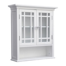 'Elegant Home Fashions - Neal Wall Cabinet With 2 Doors and 1 Shelf - Bathroom Cabinets and Shelves' from the web at 'https://st.hzcdn.com/fimgs/7721aa0b08a4ad59_7296-w233-h233-b1-p10--.jpg'