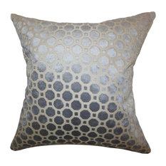 "Kostya Geometric Pillow Grey, 22""x22"""