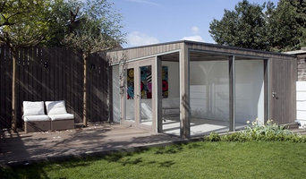 Garden Room with integrated shed.
