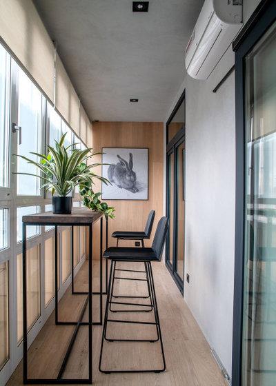 Современный Балкон и лоджия by Наталья Широкова, дизайнер