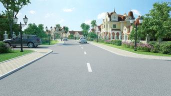 Проект и презентация поселка