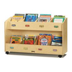 Jonti Craft   Jonti Craft Mobile 8 Section Book Organizer   Kids Bookcases