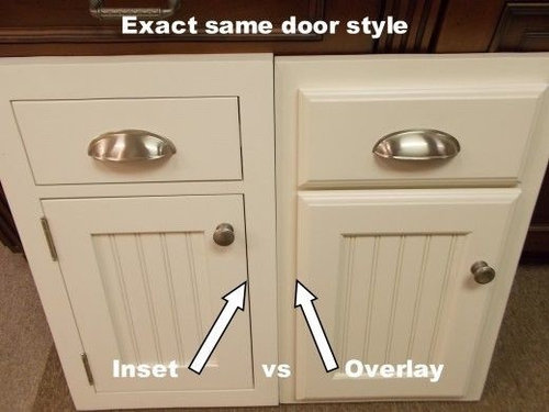 Shaker Kitchen Cabinet Inset Or Overlay