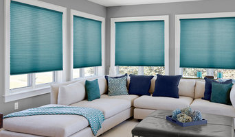 Cordless Cellular Shades - Fabric: Linen Weave Light Filtering Classic Teal