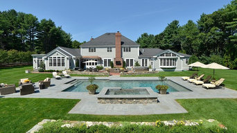 Weston, MA Custom Pool, Spa and Patio