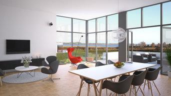 Individuelle arkitekttegnede huse