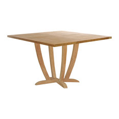 Teak Wood Amsterdam Square Dining Table