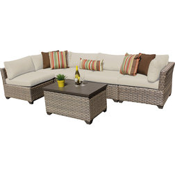 Beautiful Contemporary Outdoor Lounge Sets by Design Furnishings