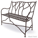 Mathews & Company - Outdoor South Fork Bench - The new Outdoor South Fork Bench features a Rustic style, perfect for your Foyer, Front porch, Patio, Deck and more. A more detailed overview is on its way, however, you will get all the important specifications below. This item is available to order. If you have any question or would like some customizations please give us a call we are happy to help.