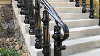 Balcony rails, handicap ramps, custom stairs, deck rails