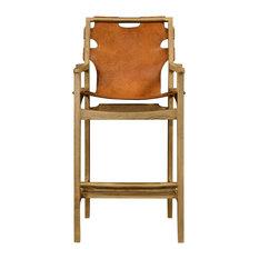 jonathan charles fine furniture slung leather light oak bar stool bar stools and counter