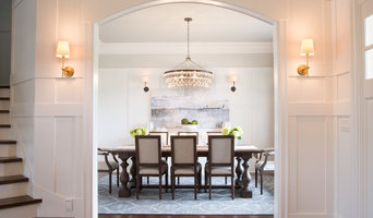 Classic Meets Eclectic in Grand Craftsman-Inspired Home By Blue Garnet Design/ T