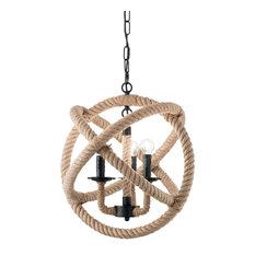 Ideal Lux Corda 3-Light Pendant