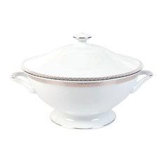 White Porcelain Soup Tureen