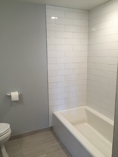Thoughts Of A Tub That Will Match White Tiles
