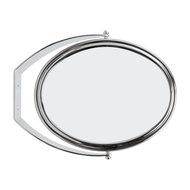 OVL57 Zadro Tri-Optics 1X//3X//8X Oval Vanity Mirror in Brass