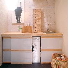 Muebles exteriores para lavadora