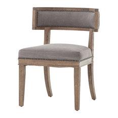 Kensington Carter Dining Chair, Dark Moon Canvas