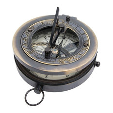 Sundial With Compass