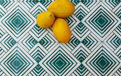 Floor Material: Handmade Cement Tile