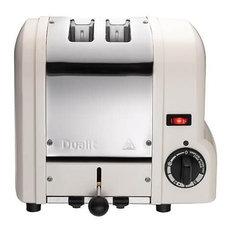 Dualit Origins 2 Slot Toaster, Canvas White