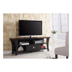 Attractive Transitional Style TV Console Brown