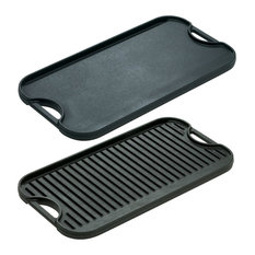 Lodge Cast Iron Reversible Pro Grid Iron Griddle, LPGI3