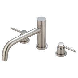 Contemporary Bathtub Faucets by Buildcom