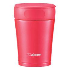 Stainless Steel Food Jar, Cherry Red