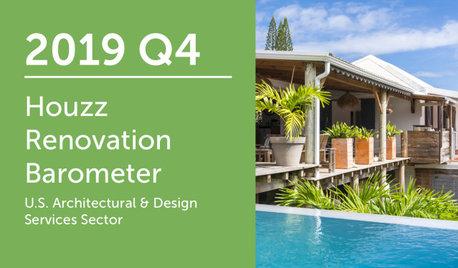 2019Q4 Houzz Renovation Barometer - Architectural & Design Sector