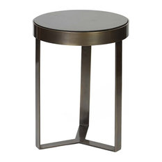 BridgeBlue Sourcing Partners - Carlos Accent Table, Bronze - Side Tables and End Tables
