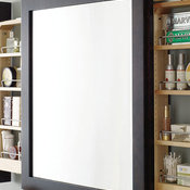 Bath Mirror with Wall Pull Out - Decora Cabinetry
