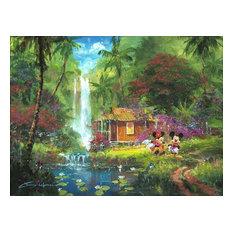 Disney Fine Art Warm Aloha by James Coleman, Gallery Wrapped Giclee