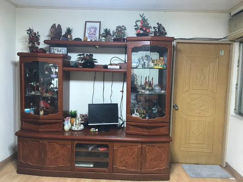 Very Old Tv Console