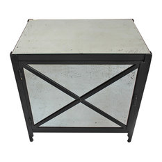Industrial Nightstands and Bedside Tables   Houzz