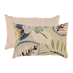 Tracey Tropical Rectangle Throw Pillow
