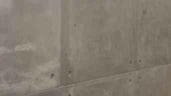 Modern concrete wall panels