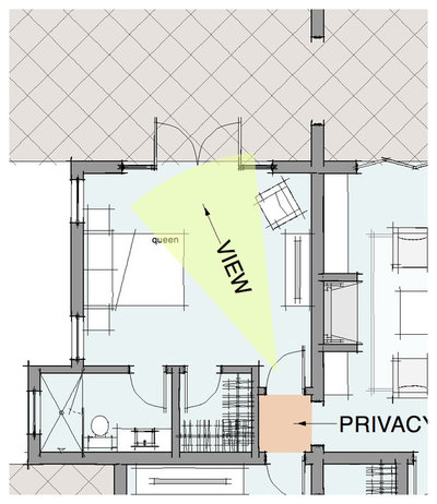 Modern Floor Plan by Dylan Chappell Architects