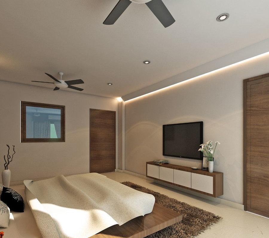 Master Bedroom 3D view