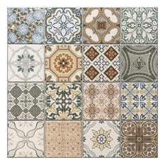 Maalem Decor Matte Tiles, 1 m2