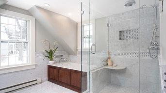 Wellesley Master Bathroom