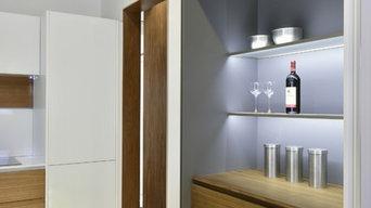 Custom kitchen cabinet and interior decoration