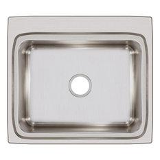 "LR25220 Lustertone Classic Stainless Steel 25"" x 22"" Drop-in Sink"