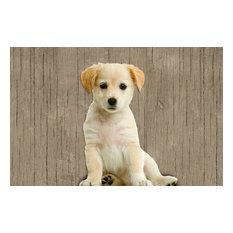 Sweet Puppy Gallery Door Mat