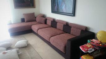 Tapizado sofá desenfundable