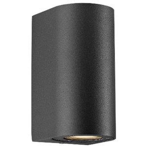 Canto Maxi Outdoor Wall Light, Black