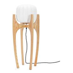 Tom Wooden Floor Lamp