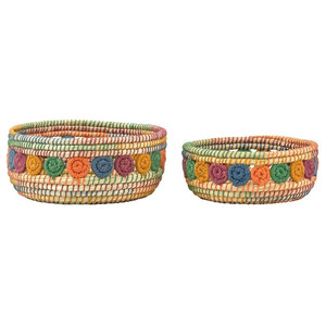 2-Piece Set of Kaisa Jute Baskets