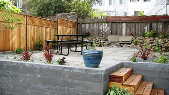 San Francisco coastal backyard