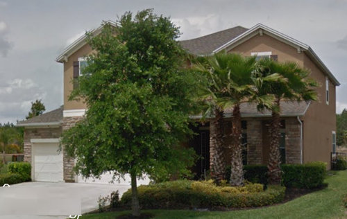 ideas for improving curb appeal of stone stucco house